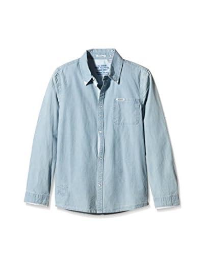 Pepe Jeans London Camicia Casual Cashe [Blu]