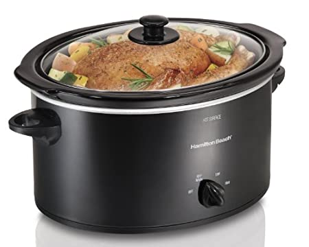 Hamilton Beach 33154 5 qt. Oval Slow Cooker