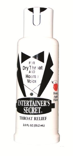 Farley's Musical Essentials 20003 Entertainer's Secret Dry Throat and Hoarse Voice Relief Spray
