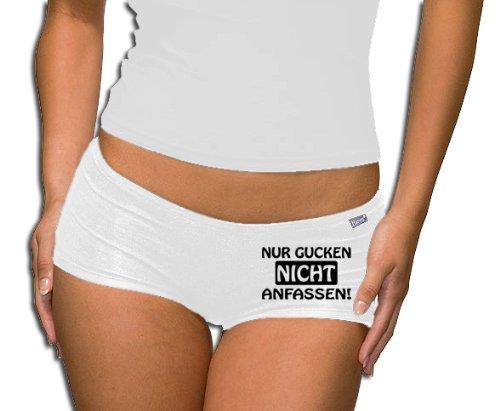 Calze donna Touchlines sallerturin - T-Shirt - non solo per andare a toccarmi, white, S, PT213