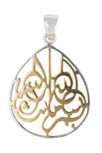 Best islamic jewelry for muslim women sterling silver and yellow gold plate aloadofball Images