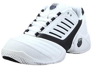 K-Swiss SURPASS 0160-109-M, Chaussures de tennis homme - Blanc (Blanc-TR-A-4-43), 43 EU