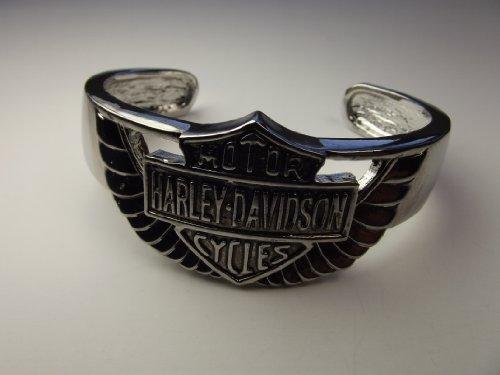 UNISEX CUFF BANGLE BRACELET MOTORCYCLE HARLEY STYLE BIKER JEWELRY GIFT