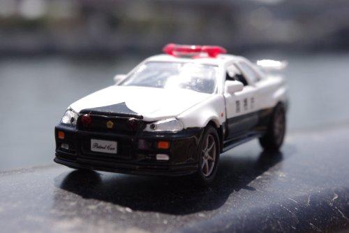 ダイヤペット DK-3101 1/43スケール 高速パトカー日産スカイラインGT-R