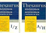 img - for Thesauras Sinonimos Antonimo: (Thesaurus of Synonyms) (Spanish Edition) book / textbook / text book