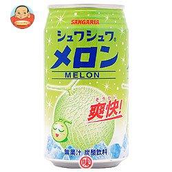 サンガリア シュワシュワメロン350g缶×24本入