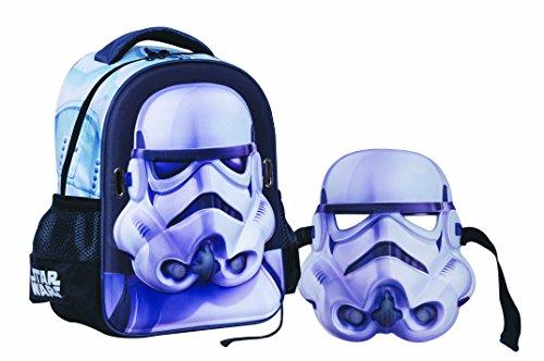 Star Wars - Disney Kindergarten Rucksack mit Maske 338-11054