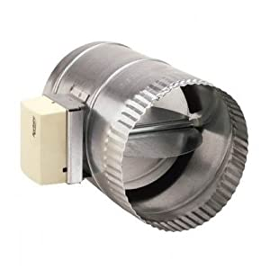 Aprilaire 6508 damper 8 round motorized closed ducting components Motorized duct damper