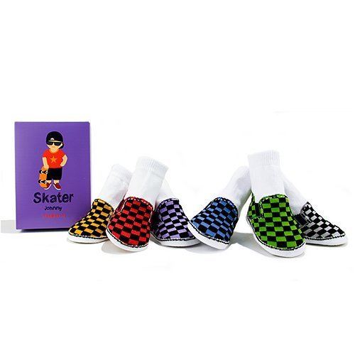 Trumpette Baby Socks-Skater Johnny
