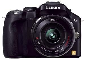 Panasonic ミラーレス一眼カメラ ルミックス G5 レンズキット 電動ズームレンズ付属 エスプリブラック DMC-G5X-K