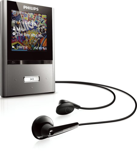Philips GoGear Vibe 4 GB MP3 Player (Black)