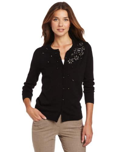 Anne Klein Women's Embellished Cardigan