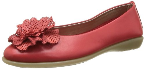 The Flexx Women's Mr Zucchini Ballet Flats Red Rouge (Marlboro Cashmer) 38.5