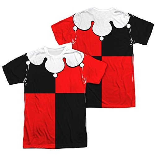 Batman Harley Quinn Costume All Over Print Front / Back T-Shirt