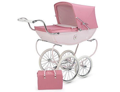 Silver Cross Chatsworth Doll Pram Rose - 1