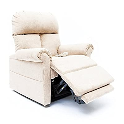 Mega Motion Lift Chair Easy Comfort Recliner LC-100 Infinite Position Rising Electric Power Chaise Lounger