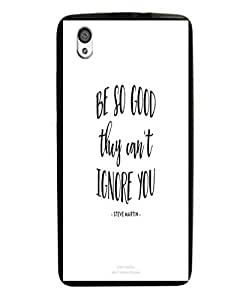Techno Gadgets Back Cover for OnePlus X