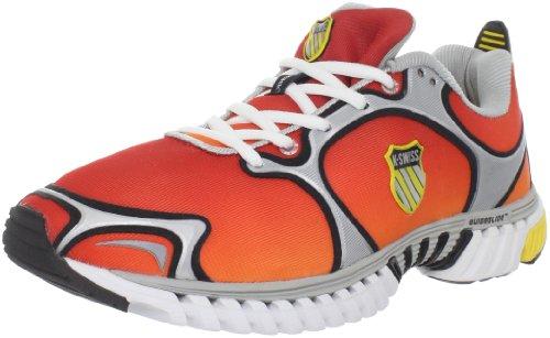 K-SWISS Kwicky Blade Light Men's Running Shoes, Red/Yellow, UK7