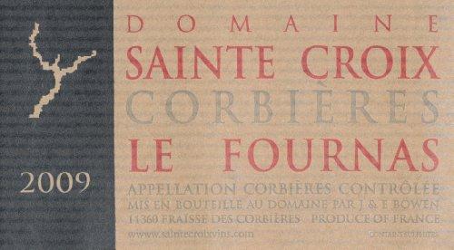 2009 Sainte Croix Corbieres Le Fournas Languedoc-Roussillon 750 Ml