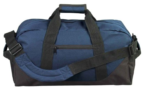 "21"" Large Duffle Bag In Navy Blue"