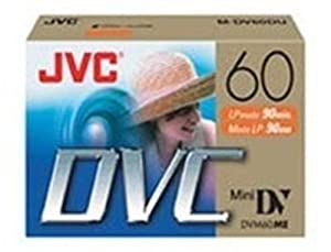 JVC COMPANY OF AMERICA : MINI DV 6 PACK FOR PROMOTION 5 + 1 PACK
