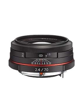 Pentax HD DA Limited 70mm F2.4 Lens - Black