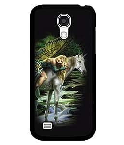 printtech Unicorn Angel Back Case Cover for Samsung Galaxy S4 Mini::Samsung Galaxy S4 Mini i9190