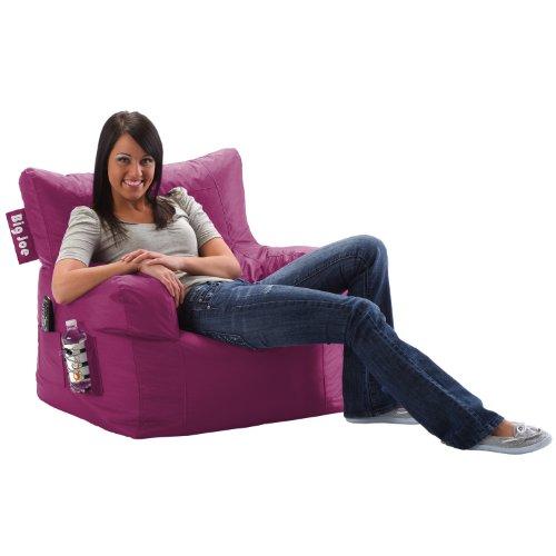 Big joe dorm chair pink passion furniture chairs bean bag chairs