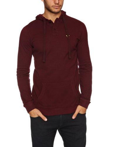 Voi Jeans Ocean Hood Men's Sweatshirt Zinfandel Large