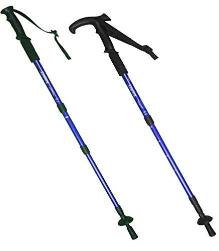 helan-2pcs-6061-aluminum-anti-shock-foldable-hiking-walking-trekking-trail-poles-climbing-sticks-blu
