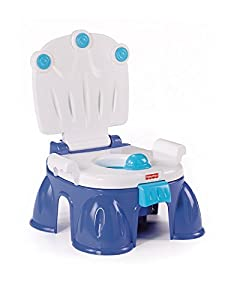 Baby Gear - Orinal 3 en 1, juguete con sonido (Mattel M4774) marca Fisher Price