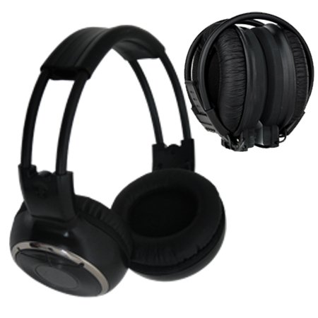 Absolute Awh21 Infrared Wireless Stereo Headphone With Ir Wirelees Transmitter
