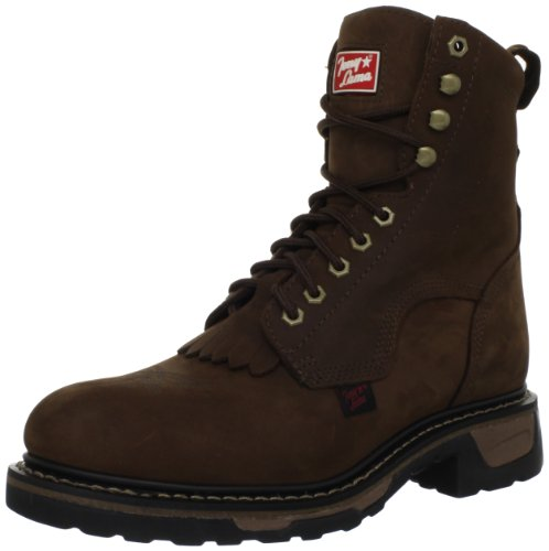 Tony Lama Boots Men's Steel Toe Lacer TW2004 Work Boot,Tan Cheyenne,10 EE US