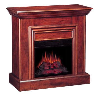 Cherry Electric Fireplace by Coaster Furniture picture B001EQOM9Y.jpg