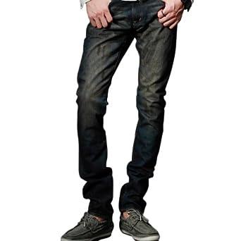 Match Men's Vinatge Denim Jeans(31W x 33L,M1212 Blue)
