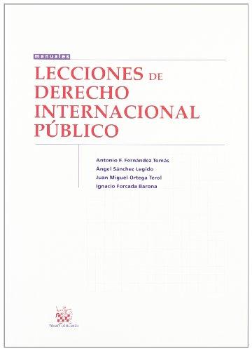 LECCIONES DE DERECHO INTERNACIONAL PUBLICO