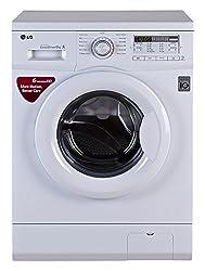 LG FH0B8NDL22 Fully-automatic Front-loading Washing Machine (6 Kg, Blue White)