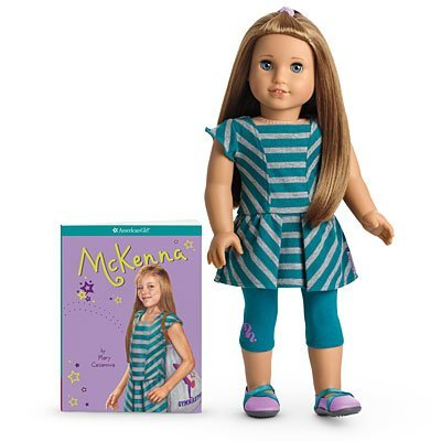American Girl of the Year 2012 McKenna Doll & Book