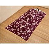 綿入りくりえり毛布 【シングルサイズ】 テイジンRウォーマルR使用マイヤー2枚合せ ブラウン
