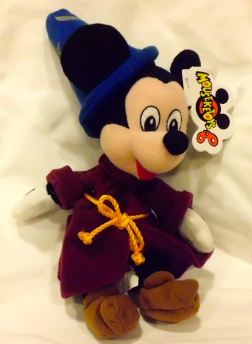 "Disney ""Fantasia"" Mickey Mouse Sorcerer Plush Bean Bag - 1"