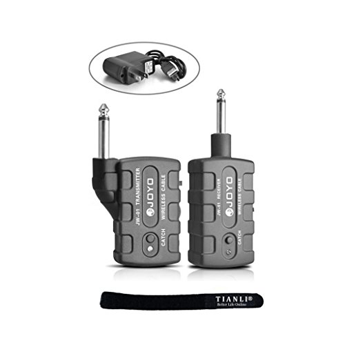 Tianli(Tm) Joyo Pro Electronic Digital Bass Guitar Wireless System Jw-01 Jw01,Retail Package With Car Charger,With Tianli Cable Tie Gift
