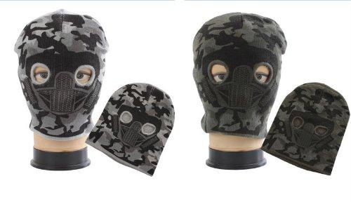 2 Stück Set Doppelpack Sturmmaske SWAT TEAM