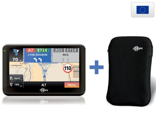 MAPPY Navigationssystem ulti E508 Europe + Etui