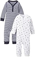Carter's Baby Boys' 2 Pack Coverall Set (Baby) - Navy
