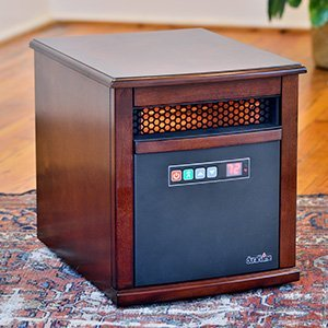 Duraflame Carter 1,000 Sq. Ft. Infrared Heater in Cherry - 9HM9342-C299