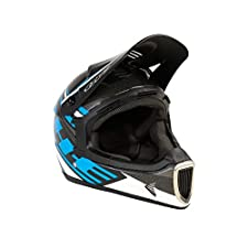 T.H.E. Industries Adult Thirty3 Carbon Helmet, Medium, Tracer Blue