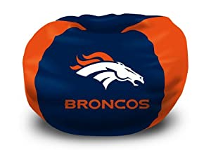 Northwest Denver Broncos Bean Bag Chair - Denver Broncos One Size by Northwest
