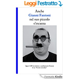 Anche Gianni Fantoni nel suo piccolo s'incazza