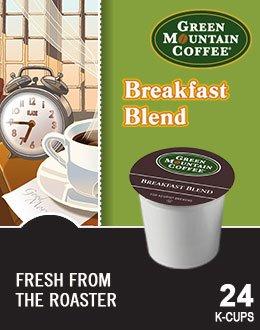 Green Mountain Coffee Breakfast Blend K-Cup (96