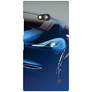 Nokia Lumia 730 Back Cover - Outstanding Car Designer Cases